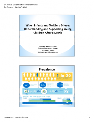 D-6_Lunardini_ When Infants and Toddlers Grieve _PPT Handout