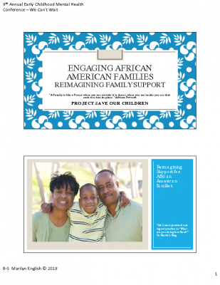 B-3_Marilyn English_Engaging African American Families_PPT Handout