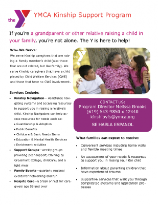 C-4_Plimpton and Brooks_Handout_YMCA Kinship Support Flyer_English